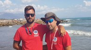 Mattia Valenti, 37 anni, e Simone Raffaelli, 34 anni, sono entrambi in servizio nello stabilimento delle Tamerici