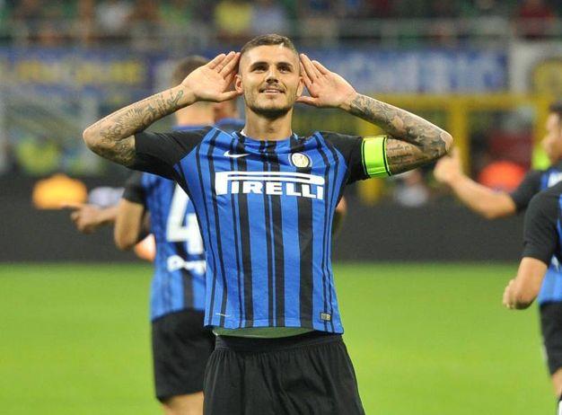 Inter-Fiorentina 2-0, Icardi (Newpress)