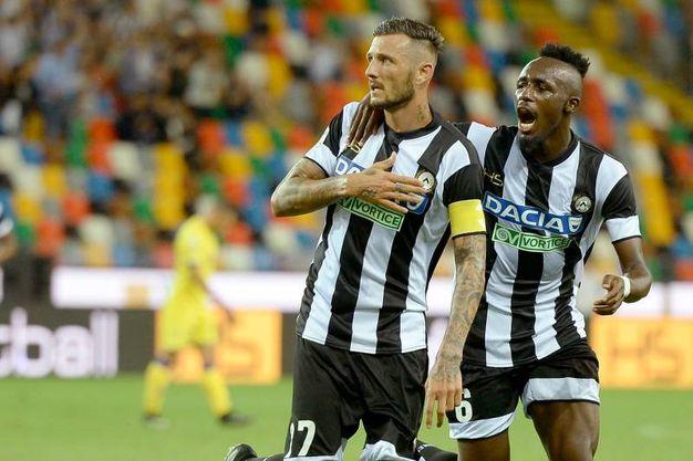 Udinese-Chievo 1-1, Thereau (Lapresse)