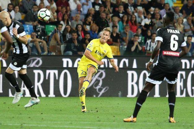 Udinese-Chievo 1-2, Birsa (Ansa)