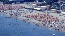 La spiaggia di Lido Adriano (foto d'archivio Zani)