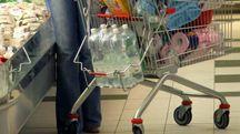 Un carrello della spesa in una foto d'archivio ImagoEconomica