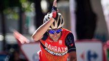 Vincenzo Nibali vince la terza tappa della Vuelta (Afp)