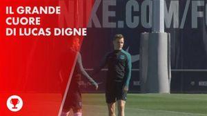 Lucas Digne: eroe dopo l'attacco di Barcellona