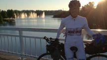 Giampiero Monti, 59 anni, dentista e ciclista per passione