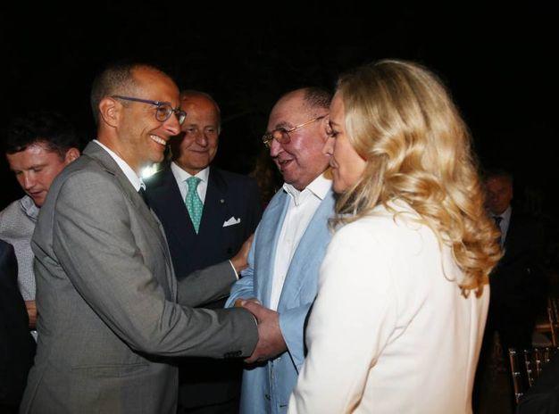 Il sindaco Matteo Ricci alla festa di Boris Shpigel