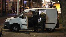 Rotterdam, il furgone sospetto (Ansa)