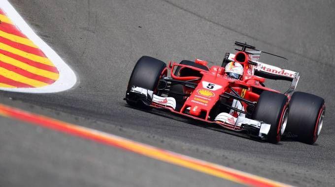 Formula 1, doppietta Ferrari (Afp)