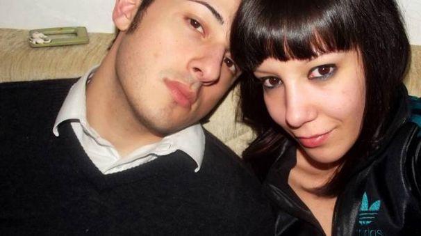 Bruno Gulotta con la compagna Martina Sacchi (Studio Sally)