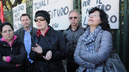 STUDIO SALLY Arluno - Sciopero dei lavoratori della Tonali foto Roberto Garavaglia - Studio Sally