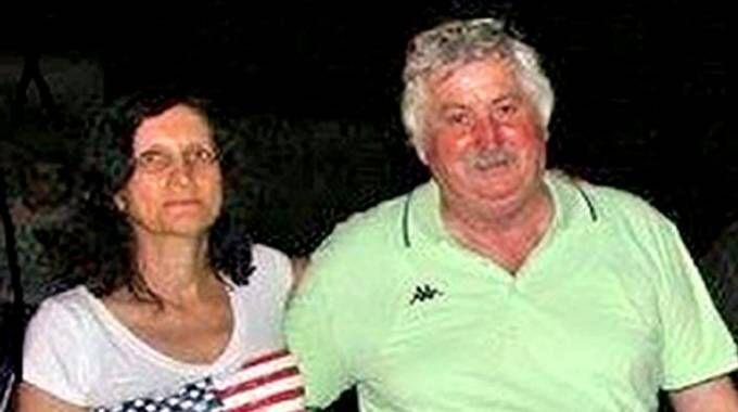 Marilena Re con il marito Carlo Buzzi nei giorni precedenti alla scomparsa