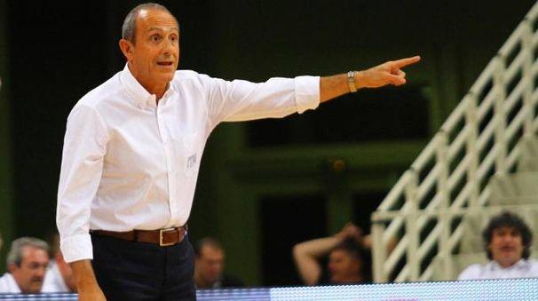 Europei di basket 2017, l'allenatore dell'Italia Ettore Messina (Ansa)