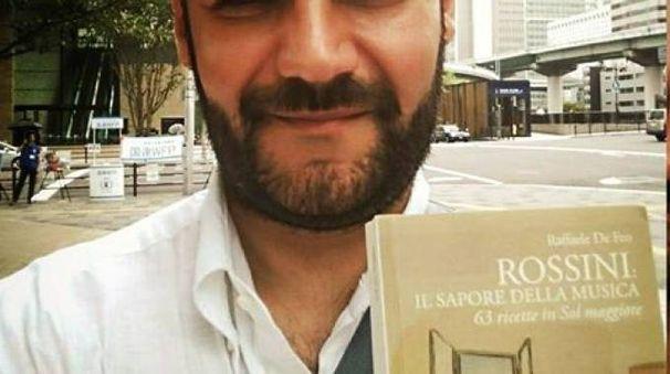 Raffele de Feo presenta il suo libro