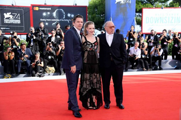 Ethan Hawke , Amanda Seyfried e Paul Schrader (Lapresse)