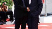 Ethan Hawke con il figlio Levon, avuto dalla collega Uma Thurman (Lapresse)