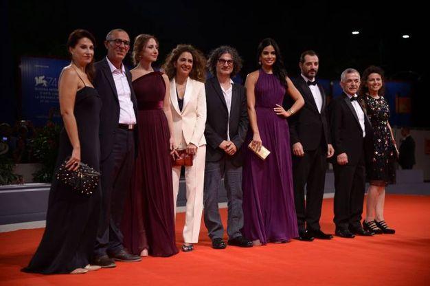 Il cast del film 'L'insulte' (Afp)