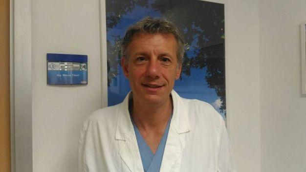 Il professore Raffaele Pascarella che ha operato Valentino Rossi (Foto di Pierfrancesco Curzi)
