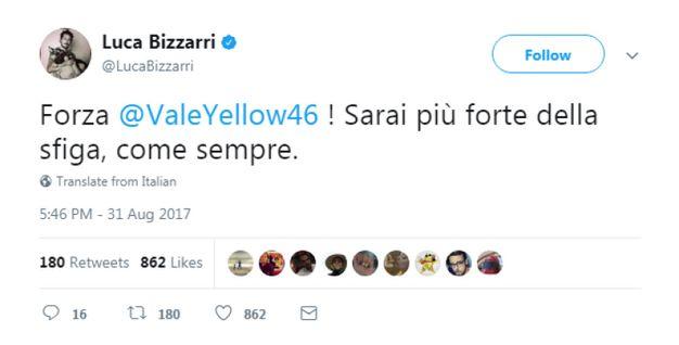 Luca Bizzarri (da Twitter)