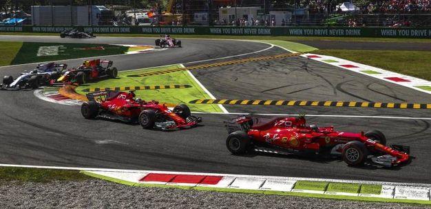 Le due Ferrari (Ansa)
