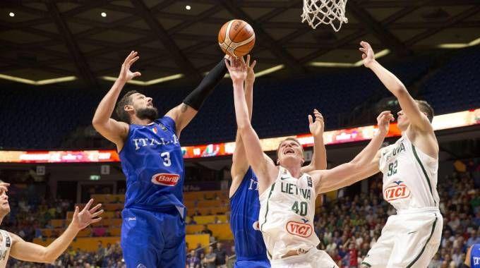 Europei basket: Italia-Lituania (Ansa)
