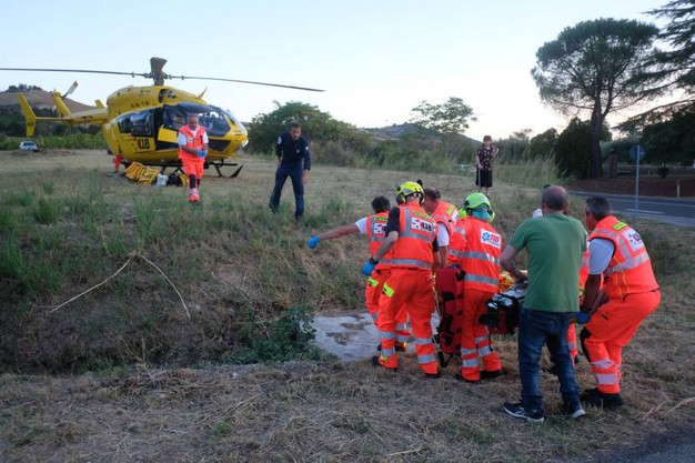 I soccorsi (foto Frasca)
