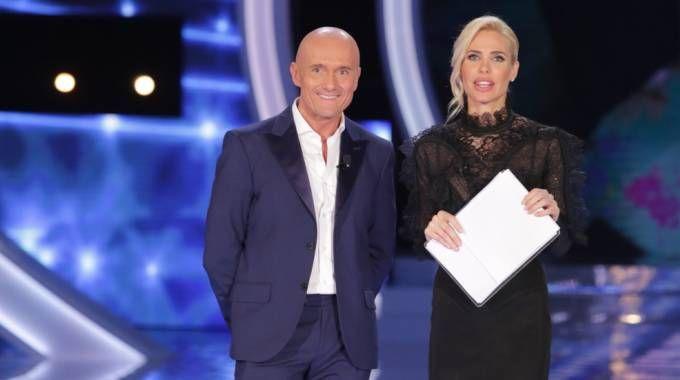 Alfonso Signorini e Ilary Blasi (Lapresse)