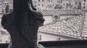 Martina Colombari a Siena (Foto tratte da Instagram)