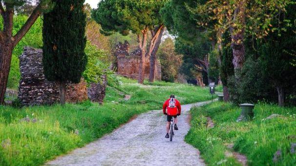 la visita guidata di Via Appia Antica in bicicletta