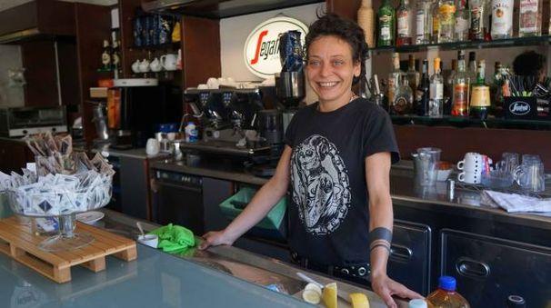 Elisa Puccini è una delle titolari dello Zenzero Caffè del Canaletto