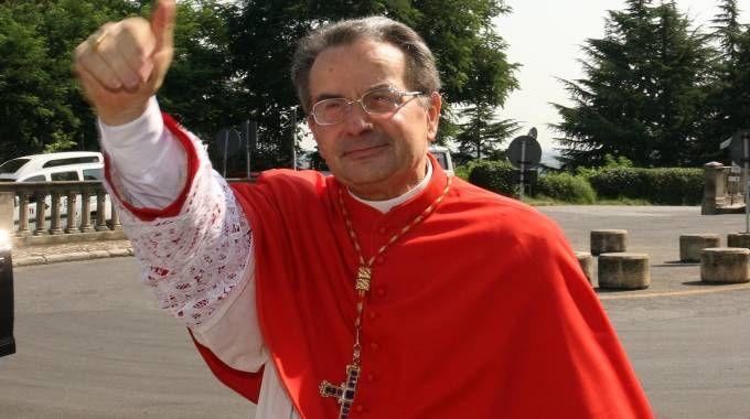 L'arcivescovo emerito Carlo Caffarra (FotoSchicchi)