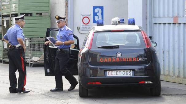 I carabinieri sul luogo del tragico incindente (Spf)