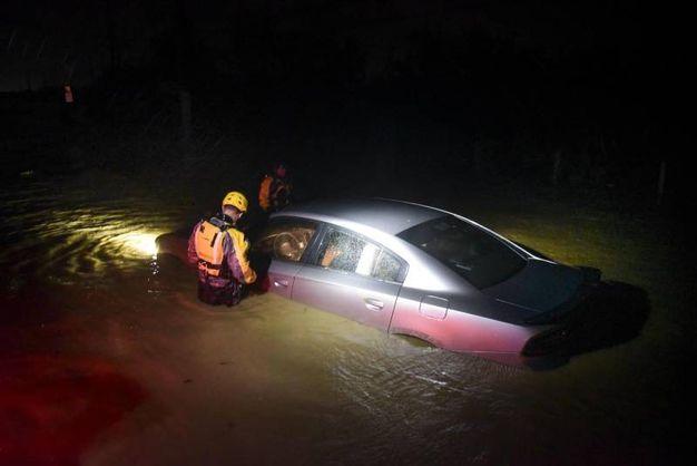 Alluvione a Porto Rico (Ansa)