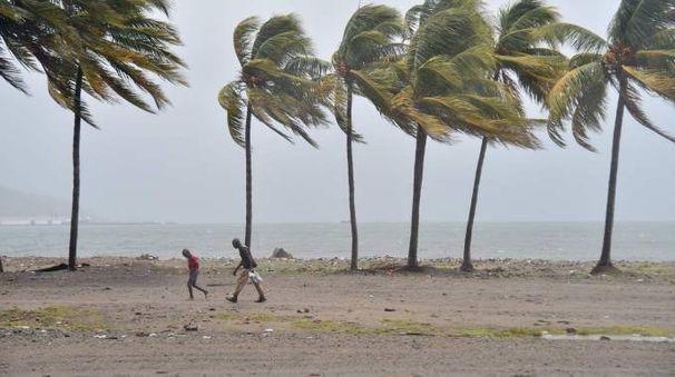 La furia di Irma ad Haiti (Afp)
