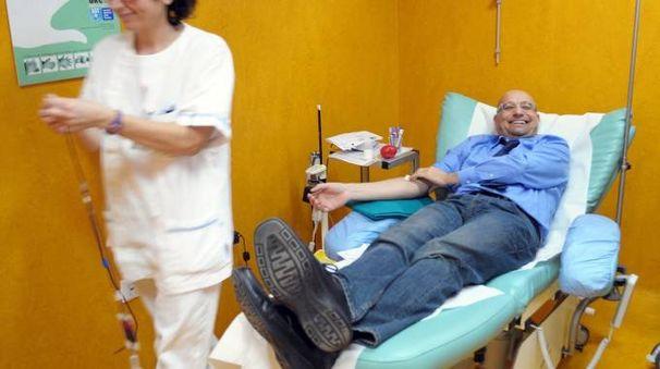 Donazione di sangue a Pontedera (foto di repertorio)