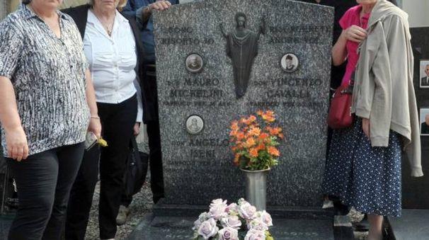 La tomba dei sacerdoti del cimitero di San Martino