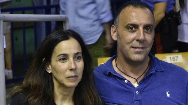 Piero Montecchi assieme alla moglie Windy