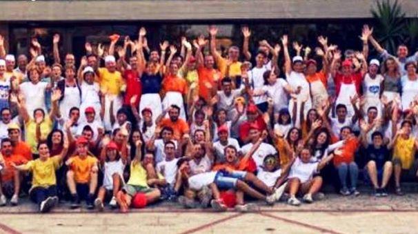 Una delle foto di gruppo