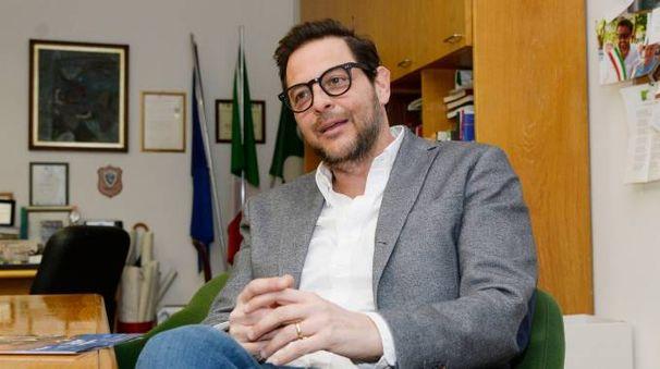 Il sindaco Marco Alparone