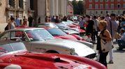 Lo spettacolo davanti Palazzo Ducale (foto Fiocchi)