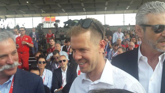 Il pilota Vettel (foto Annese)