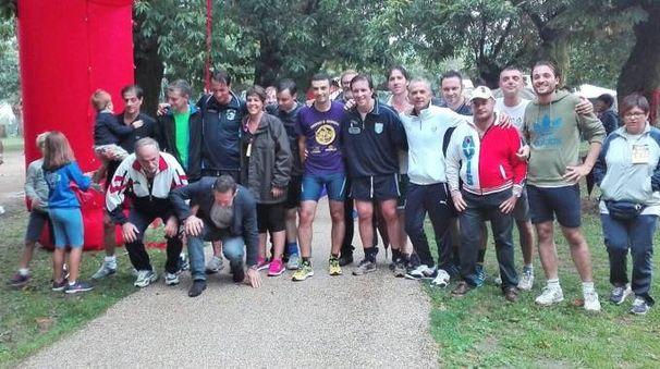 Gli amministratori lunigianesi presenti alla scorsa edizione della Gara podistica