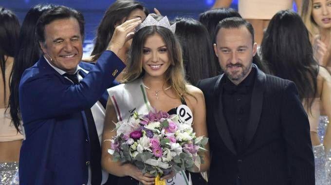 Alice Rachele Arlanch è la nuova Miss Italia (Ansa)