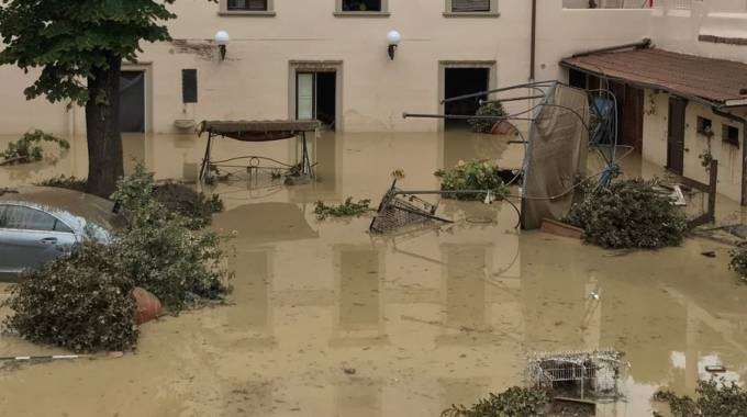 Il seminterrato di via Sauro dove sono morte quattro persone