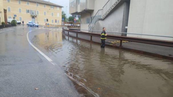 ALLARME La zona di Fontebecci è finita sott'acqua