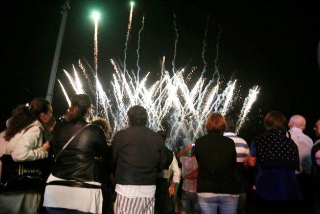 Fuochi d'artificio (foto Ravaglia)
