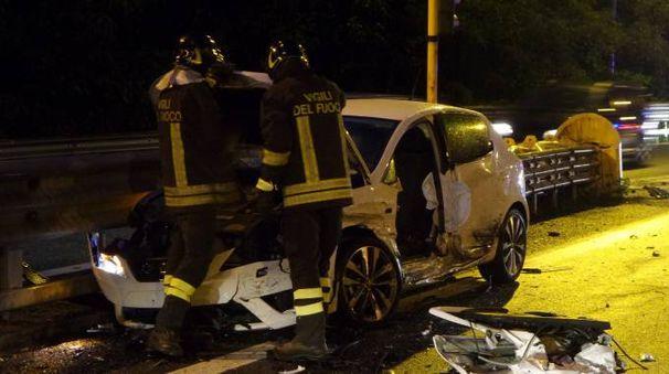Incidente in tangenziale a Sondrio (Orlandi)