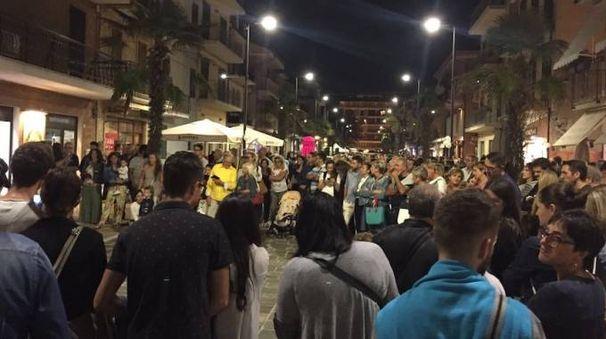 Notte bianca a Porto Sant'Elpidio (foto Girelli)