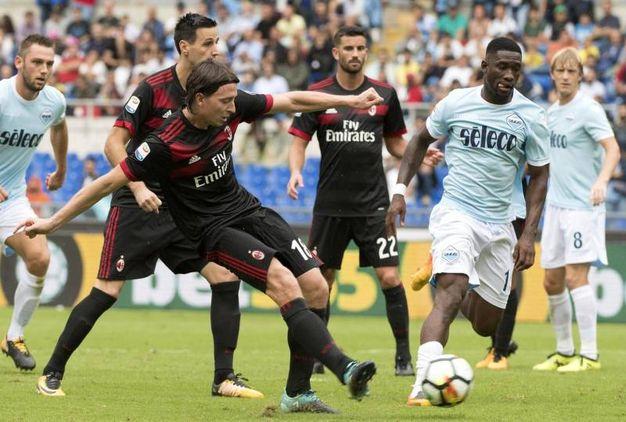 Lazio-Milan 4-1, Montolivo (Ansa)