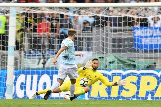 Lazio-Milan 4-0, Luis Alberto (Ansa)