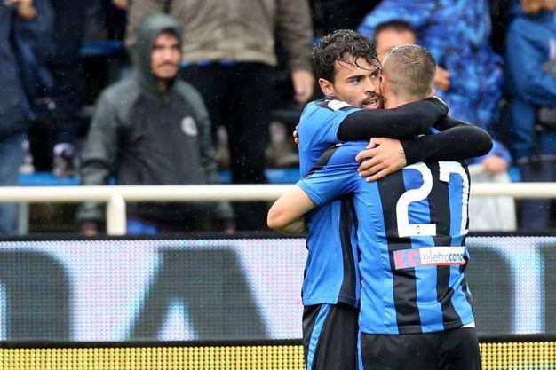 Atalanta-Sassuolo 2-1, Petagna (LaPresse)
